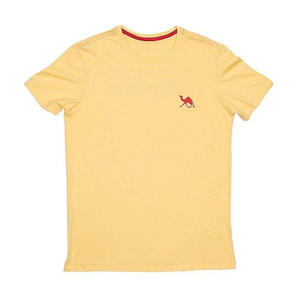Camiseta Dromader - Amarelo Areia