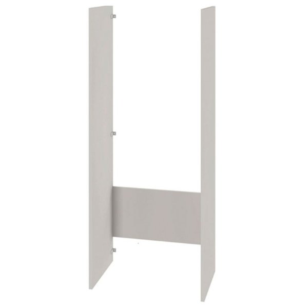 Torre Lateral Proteção Geladeira Essence Branco Caemmun