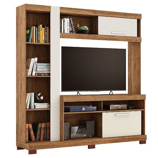 Estante Home Para TV até 55 Polegadas 180 Cm Amazon Caemmun