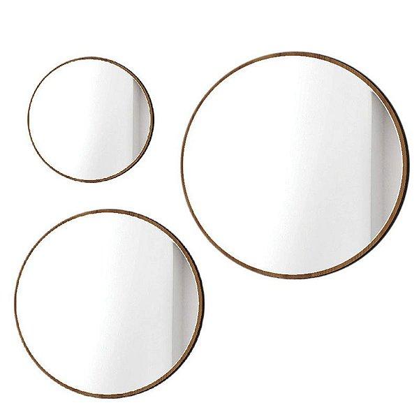 Conjunto de Espelhos Quartzo Buriti - Líder Design