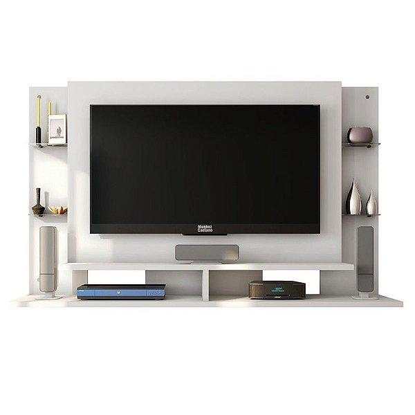 Painel Para TV Até 55 Polegadas Domínio Branco - Caemmun