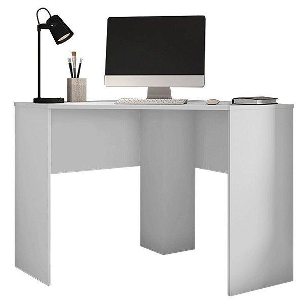 Mesa De Computador Canto Office Cubic Branco - Caemmun