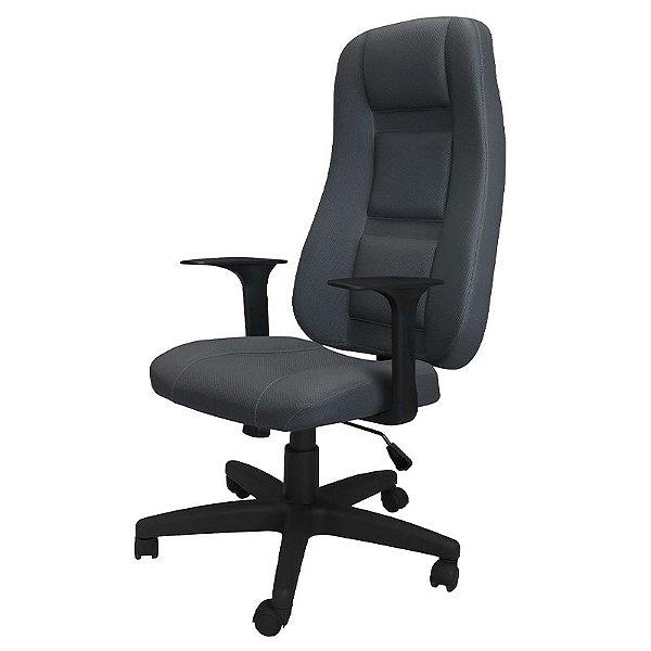 Cadeira Gamer Executiva de Escritório Cinza Ergo OPT