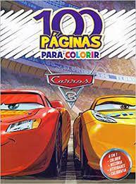 100 PAGINAS PARA COLORIR- CARROS 3