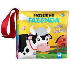 LIVRO DE PANO, BEBE FELIZ- PASSEIO NA FAZENDA