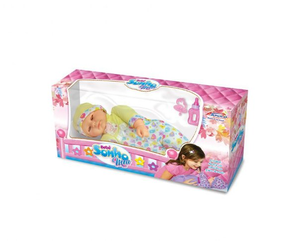Boneca Bebê Sonho Meu