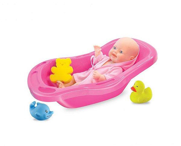 Boneca na banheira