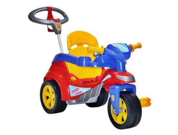 Carrinho de Passeio Baby Trike Vermelho