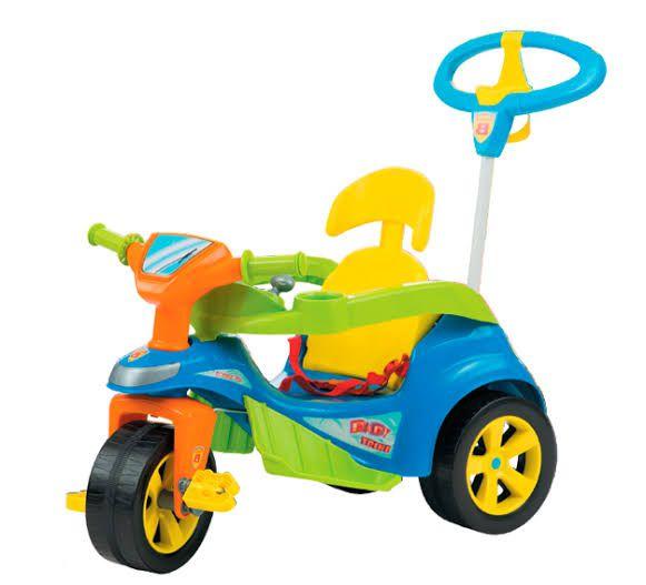 Carrinho de Passeio Baby Trike Azul
