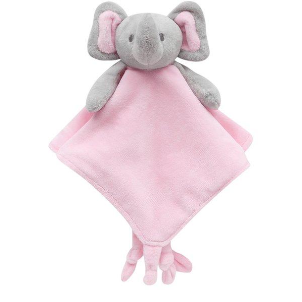 Naninha Elefantinho Abraço - Rosa