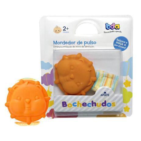 Mordedor Bochechudos - Laranja (Leãozinho)