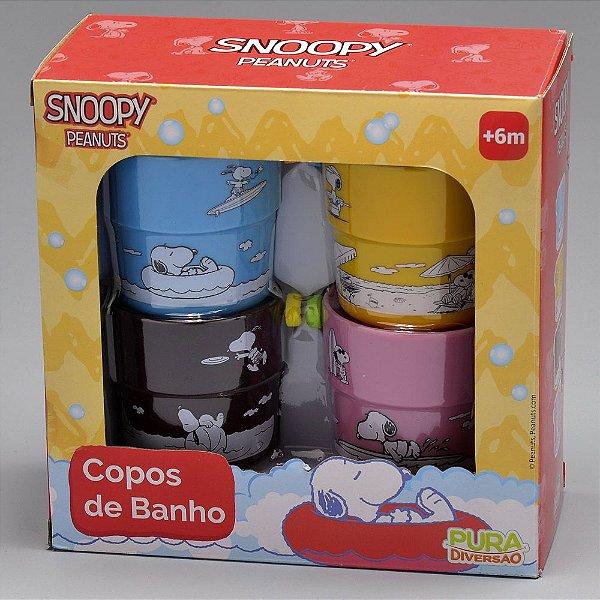 SNOOPY COPOS DE BANHO