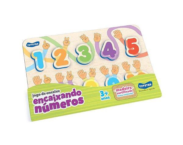Jogo De Encaixe - Encaixando Os Números