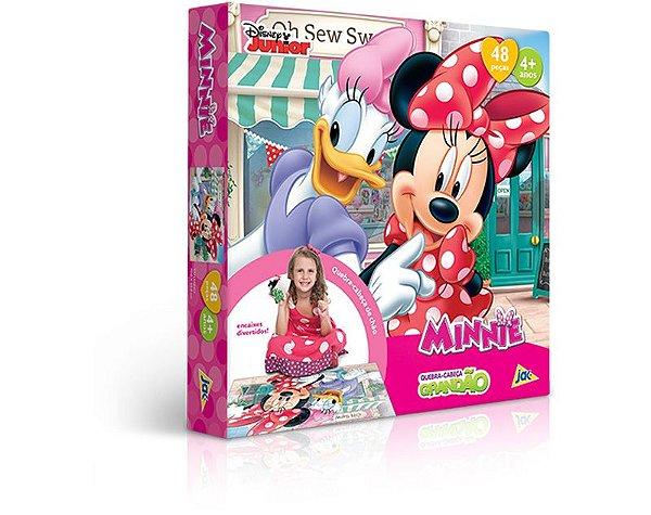 Quebra Cabeça Grandão 48 pçs - Minnie Mouse