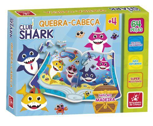 QUEBRA CABECA 64 PECAS BABY SHARK