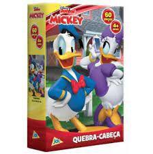 MICKEY QUEBRA CABECA 60 PECAS 4 MOD