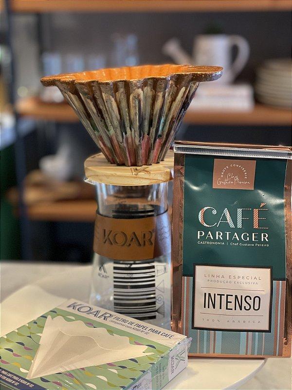 Kit Café Partager e Koar cerâmica