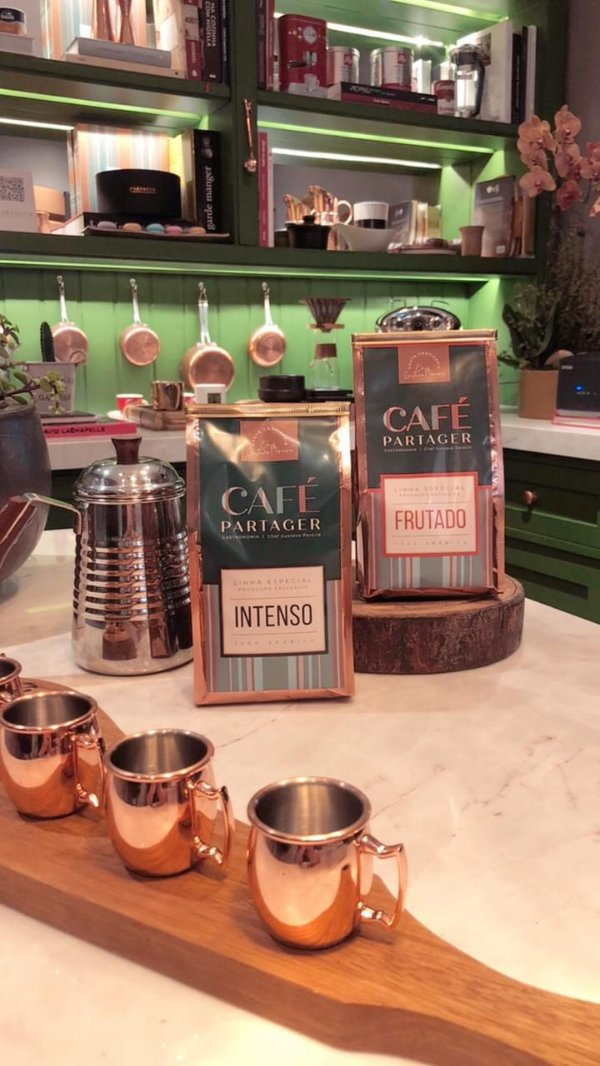 Café especial Partager