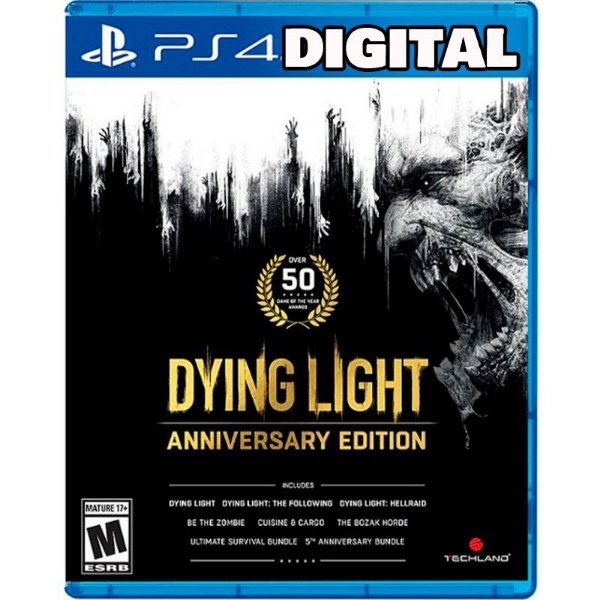 Dying Light Anniversary Edition - Ps4 - Midia Digital