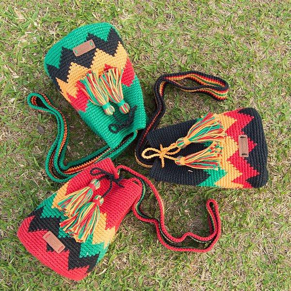 Bolsa Saco Artesanal Jamaica