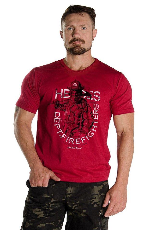 Camiseta Bombeiros