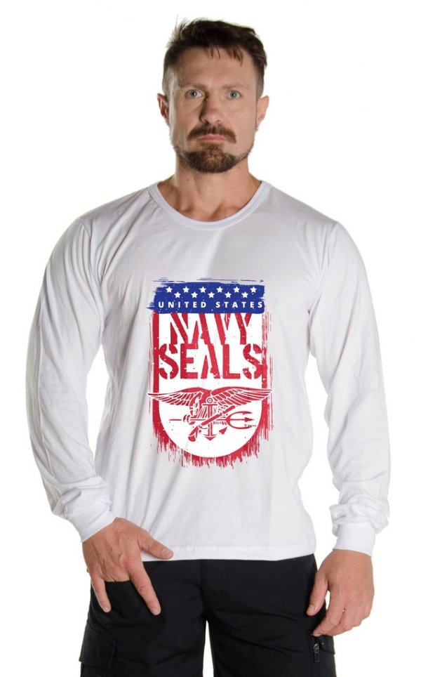 Camiseta Manga Longa US Navy