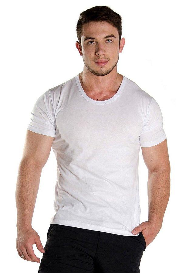 Camiseta Black Flag Branca