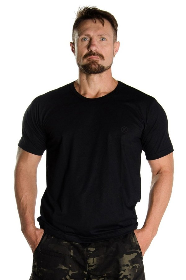Camiseta Black Flag Preta