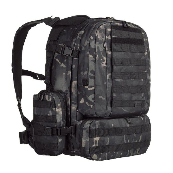 Mochila Defender Multicam Black