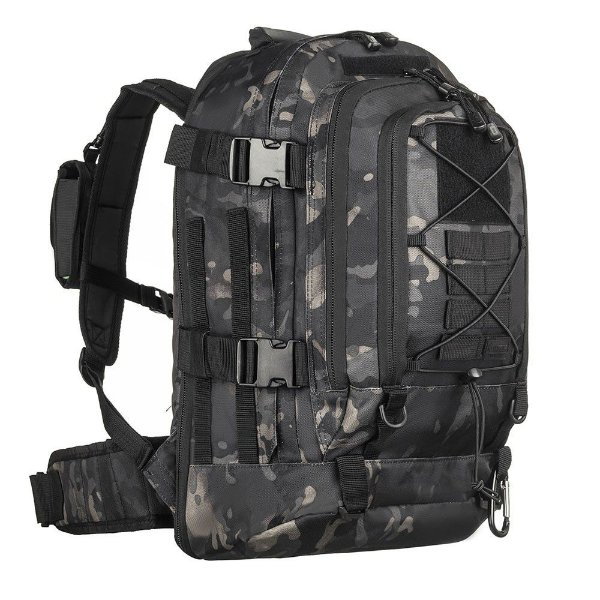 Mochila Duster Multicam Black