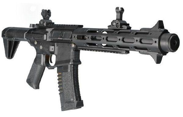 Rifle Airsoft Ares CQB CAR-15 AEG (Preto)