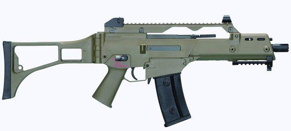 Rifle Airsoft Ares G36C - AS36C AEG (Verde)