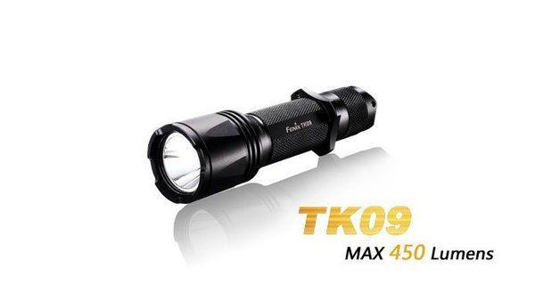 Lanterna Fenix TK09 - 450 Lumens