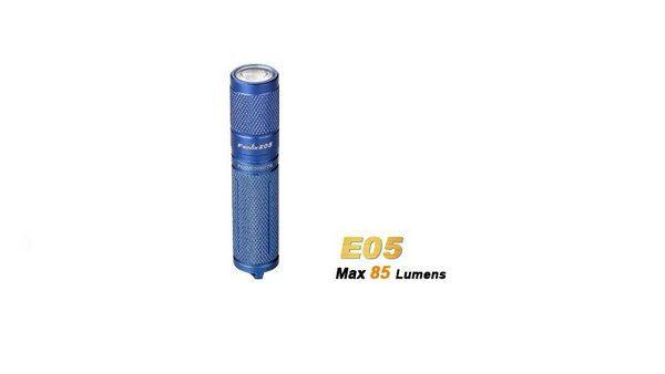 Lanterna Fenix E5 Azul - 85 Lumens