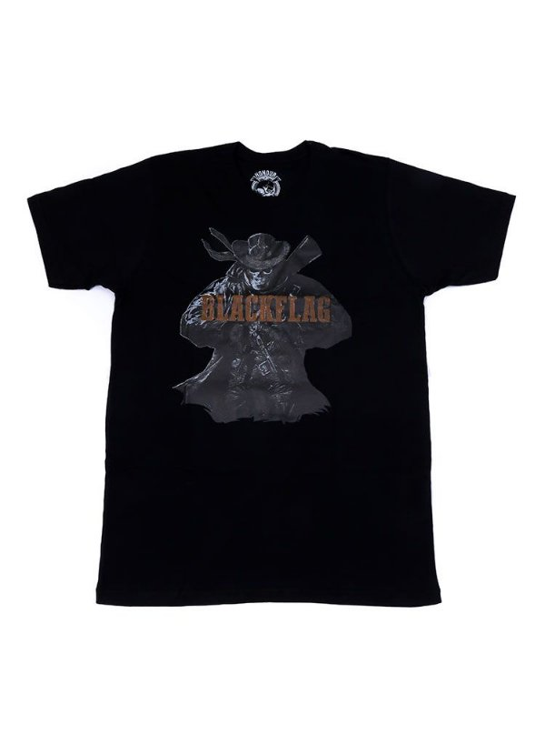Camiseta Black Flag Gunslinger