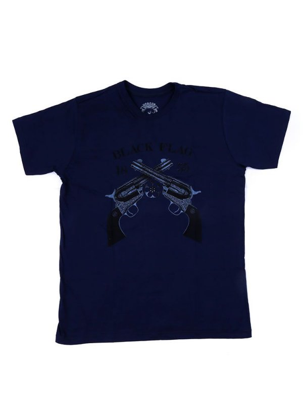 Camiseta Black Flag Duel