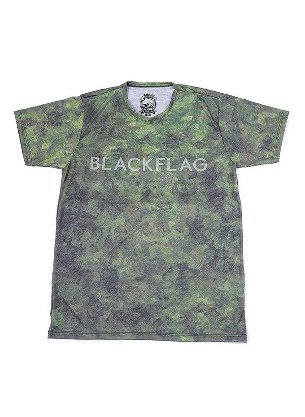 Camiseta Black Flag Masked