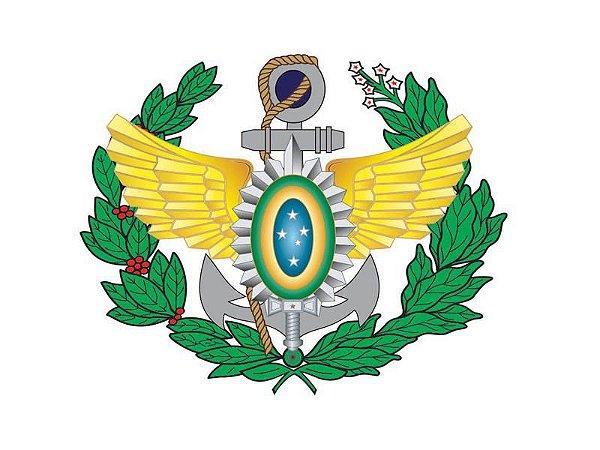 Adesivo Forças Armadas Brasão