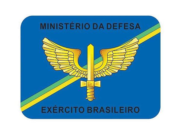 Adesivo Minist. Defesa Brasão FAB