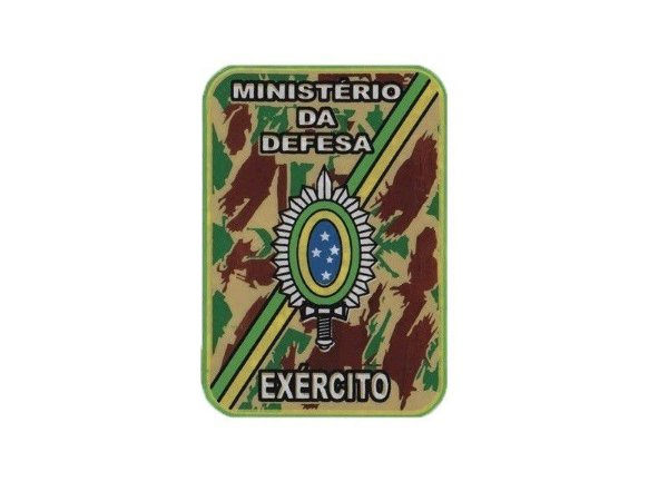 Adesivo Minist. Defesa Exército