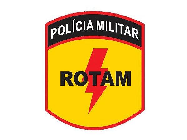 Adesivo Polícia Militar Rotam