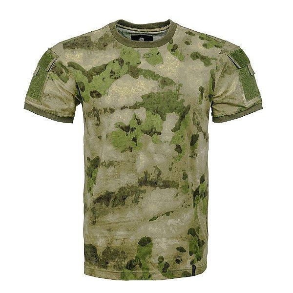 T-Shirt Army Camuflado A-Tacs FG