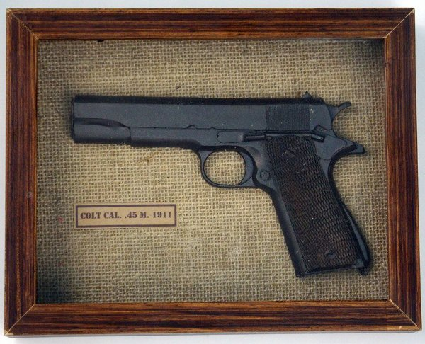 Quadro Pistola Colt Cal. 45 M. 1911