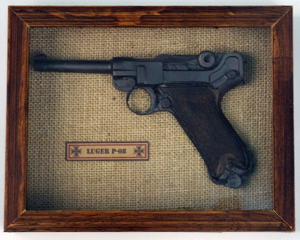 Quadro Pistola Luger P-08