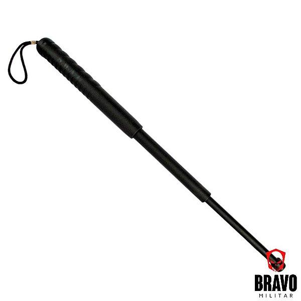 Bastão Retrátil com Porta Bastão Bravo