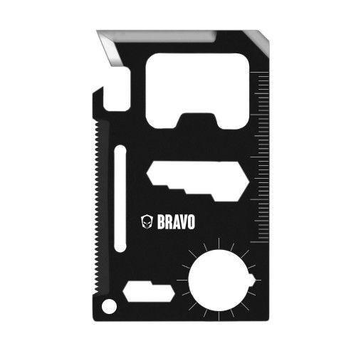 Cartão de Sobrevivência Multifunções Bravo