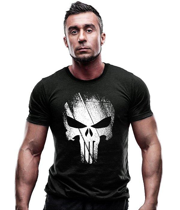 Camiseta Estampada Punisher