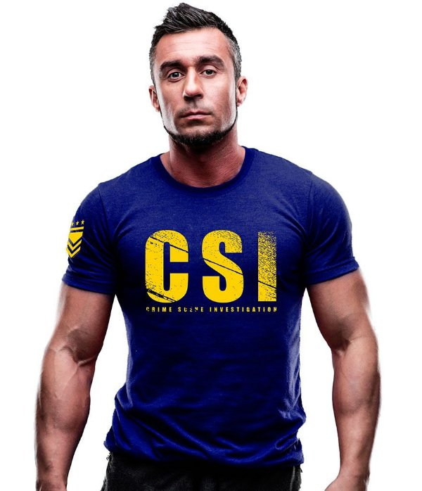 Camiseta Estampada CSI