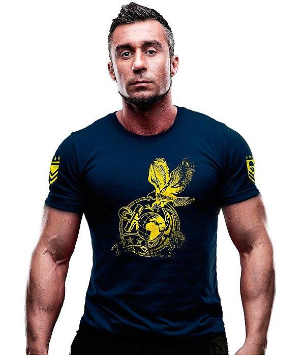 Camiseta Estampada Marines