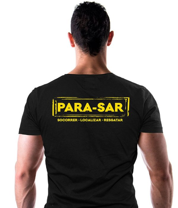 Camiseta Estampada PARA-SAR